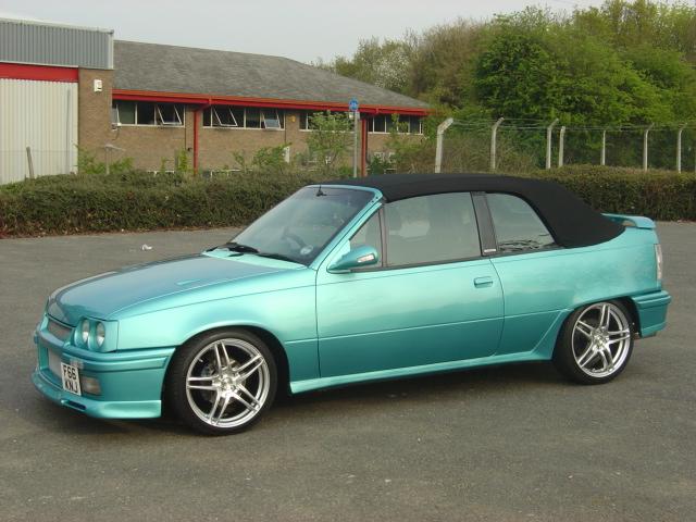 Vauxhall Astra MkII Cabriolet, 2.0 16v Turbo ...